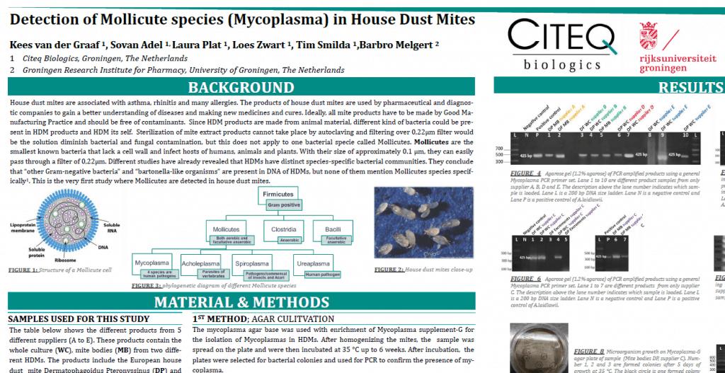 Outtake mycoplasma poster